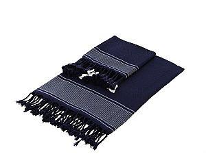 Полотенце Buldan Tuana 100х180 см, темно-синее