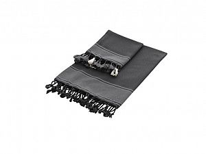 Полотенце Buldan Tuana 100х180 см, темно-серое