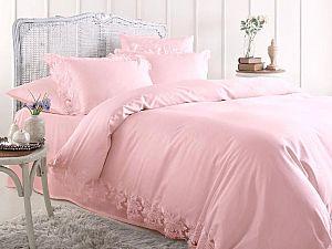 Постельное белье Gelin Home Venedik, грязно-розовый