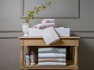 Полотенце Tivolyo Tess, розовое