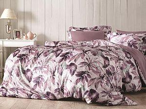 Постельное белье Tivolyo Piante, фиолетовый