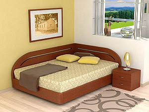 Кровать Торис МАТИ B7 (Румо) левое