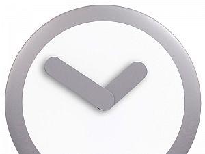 Часы настенные Урбаника Focus, серебро