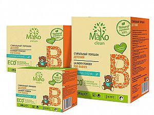 Порошок стиральный детский Mako clean Baby (650 г)