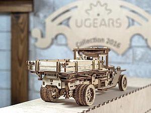 Конструктор 3D-Пазл Ugears Грузовик UGM-11