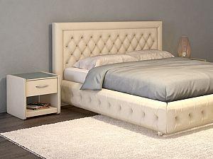 Кровать Moon Trade Биг Бен Модель 586 Марципан с подъемным механизмом