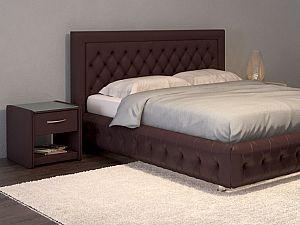 Кровать Moon Trade Биг Бен Модель 586 Кофе с подъемным механизмом