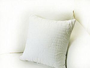 Декоративная подушка Altro 40х40 см, белая