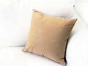 Декоративная подушка Altro 40х40 см, бежевая