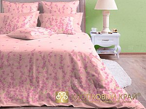 Постельное белье Хлопковый край Шарлиз, роза