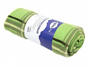 Плед SPIM.RU зеленый
