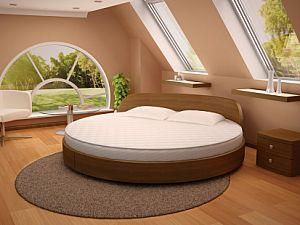Круглая кровать Торис Амата Вилор