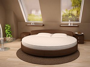 Круглая кровать Торис Амата Латис