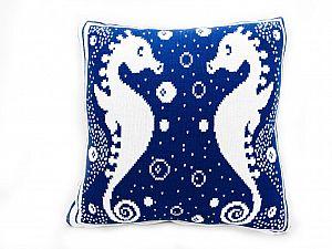 Декоративная подушка Arloni Морской конек