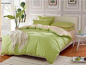 Постельное белье Luxe Dream Салатово-Бежевый