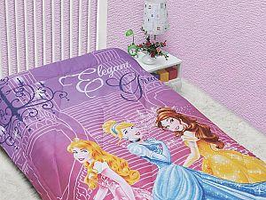 Детское одеяло Disney Принцессы в замке