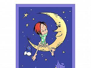 Плед ОТК На луне