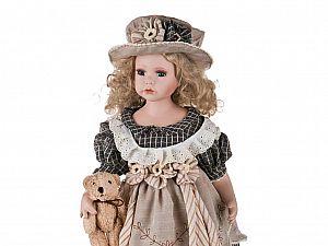 Фарфоровая кукла 346-008-3