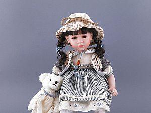 Фарфоровая кукла 346-112