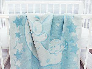 Байковое одеяло ОТК Луна