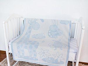 Байковое одеяло ОТК Жираф