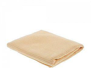 Вязаное детское одеяло ОТК Клетка