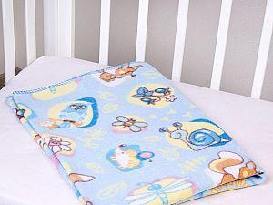 Байковое одеяло ОТК Лесные жители