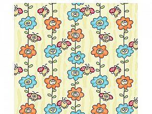 Байковое одеяло ОТК Божья коровка на цветке