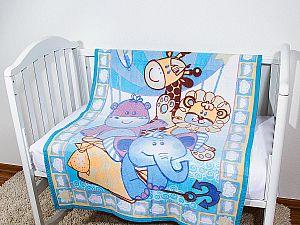 Байковое одеяло ОТК Воздушный шар