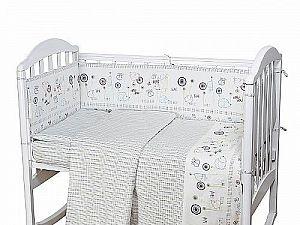 Детское постельное белье ОТК Ежики