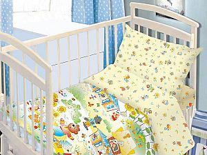 Детское постельное белье ОТК Теремок