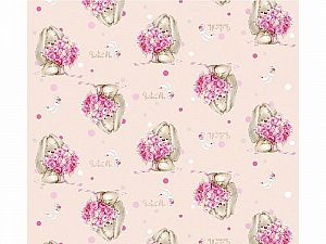 Плед Disney Зайка с цветами