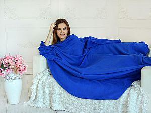Плед с рукавами Sleepline, синий