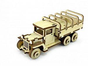 Конструктор 3D-Пазл Lemmo Советский грузовик ЗИС-5вп, арт. ЗИС-4