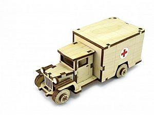 Конструктор 3D-Пазл Lemmo Советский грузовик ЗИС-5м, арт. ЗИС-3