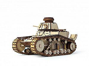 Конструктор 3D-Пазл Lemmo Танк МС-1, арт. 00-25