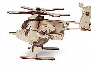 Конструктор 3D-Пазл Lemmo Вертолет Серж, арт. 00-56