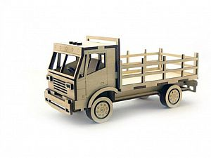 Конструктор 3D-Пазл Lemmo Грузовик с кузовом, арт. ГР-1