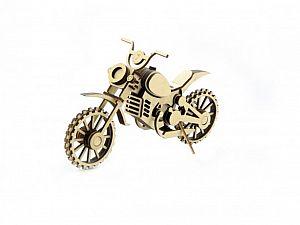 Конструктор 3D-Пазл Lemmo Мотоцикл Кросс, арт. МЦ-4