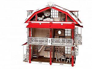 Конструктор 3D-Пазл Lemmo Большой дом для кукол, арт. 00-15