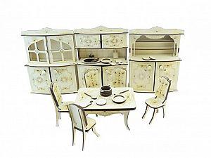 Конструктор 3D-Пазл Lemmo Набор мебели кухня, арт. МЕ-5