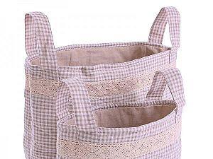 Текстильная корзина Helgi Home Мильфер, 38х30 см