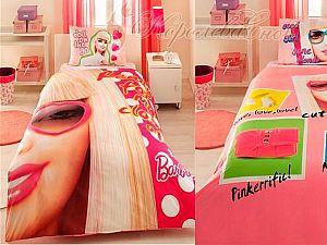 Постельное белье Barbie Close Up