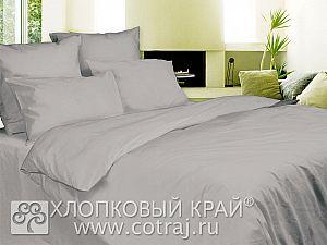 Постельное белье Хлопковый край Серебро