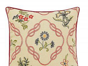 Декоративная наволочка Morris and Co Crimson 45х45 см