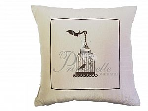 Декоративная подушка Primavelle Птичка в клетке