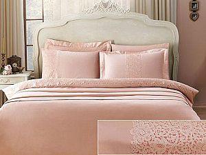 Постельное белье Tivolyo Forza, розовый