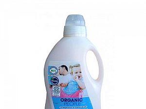 Эко гель Organic People для стирки всех видов тканей