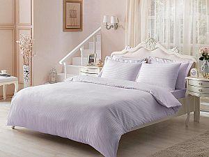 Жаккардовое постельное белье Tivolio Jaquard, лиловое