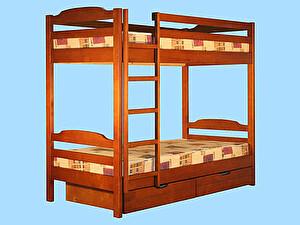Купить кровать Альянс XXI век Тандем с ящиками, двухярусная
